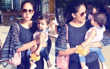 Shahid Kapoor & Mira Rajput's Baby Misha Looks Adorable At The Airport