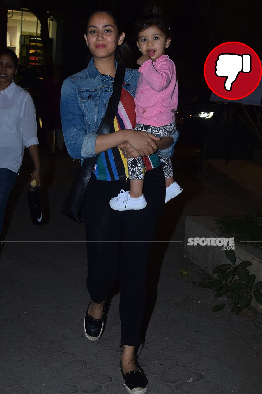 mira rajput with misha kapoor post play date