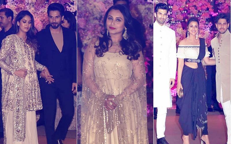 Ambani Engagement Party: Mira Rajput-Shahid Kapoor, Rani Mukerji, Sidharth Malhotra- Parineeti Chopra- Aditya Roy Kapur Make A Midnight Entry