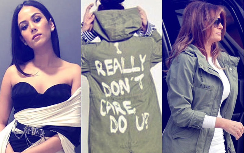Mira Rajput Takes Melania Trump Head-On Over Her Insensitive 'I Really Don't Care' Jacket