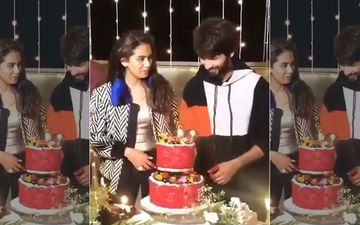 Inside Shahid Kapoor's Birthday Bash: Mira Rajput Steals A Loving Glance At Her Hubby As He Cuts A Huge Cake - VIDEO