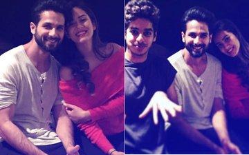 CANDID CLICKS: Mira Rajput, Shahid Kapoor BOND With Family