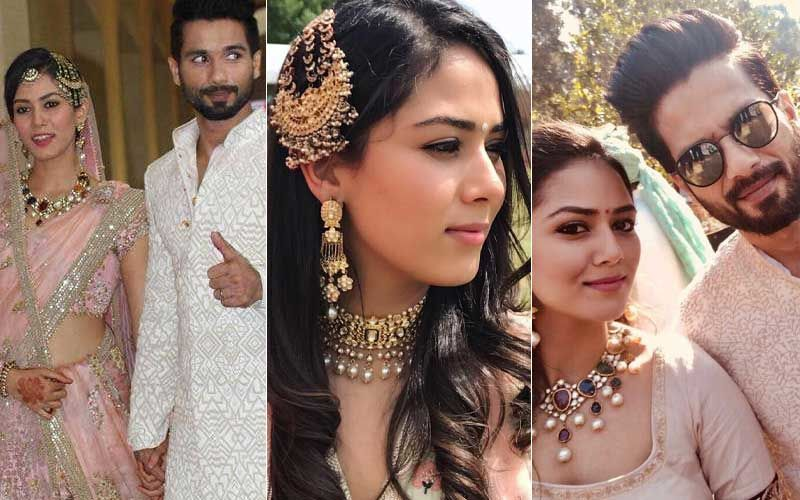 Shahid Kapoor's Lovely Wife Mira Rajput Will Tell You How To Reuse Your Wedding Jewellery With Sass