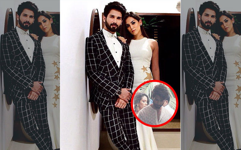 Shahid Kapoor And Mira Rajput's First Shot In Front Of The Camera Leaked Online