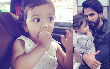 Daddy Shahid Kapoor Posts An Adorable Picture Of Misha After She Gets Her Ears Pierced