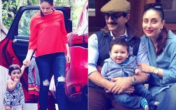 Misha's FIRST WALK With Mira Rajput; Saif Ali Khan, Kareena Kapoor & Taimur Pose For A Family Picture