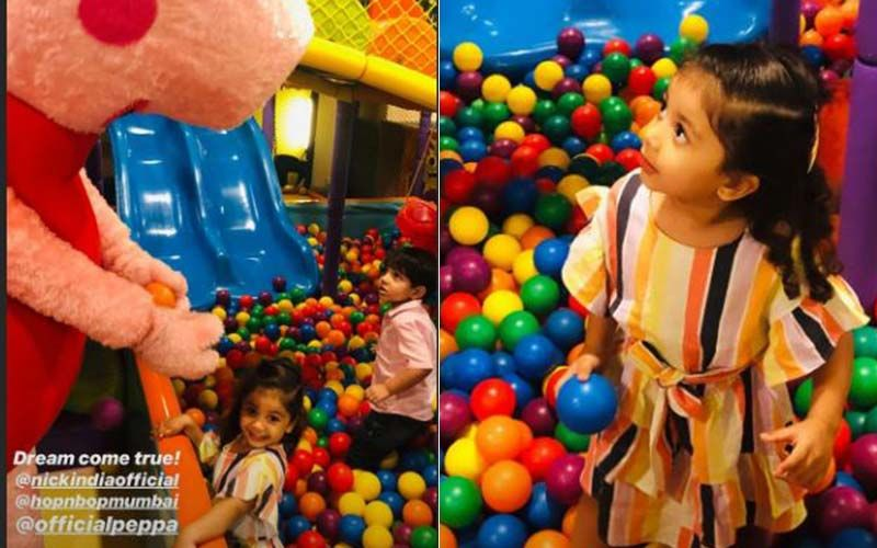 Oh, Goody! Mira Rajput Introduces Daughter Misha To Peppa Pig; Shares Adorable Pics From Playdate