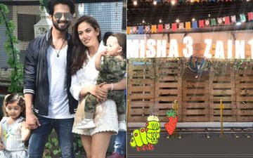 INSIDE PICTURES AND VIDEOS: Shahid Kapoor And Mira Rajput Throw A Grand Birthday Bash For Misha And Zain