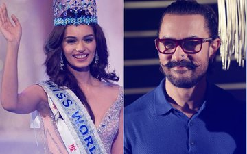 Miss World 2017 Manushi Chhillar Wants To Be Aamir Khan's Leading Lady