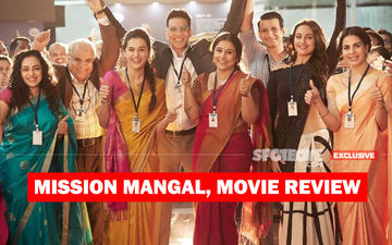 Mission Mangal, Movie Review: Mission Accomplished; Celebrate Akshay's Cricket, Vidya's Pooris And Taapsee's Dysfunctional Computer!