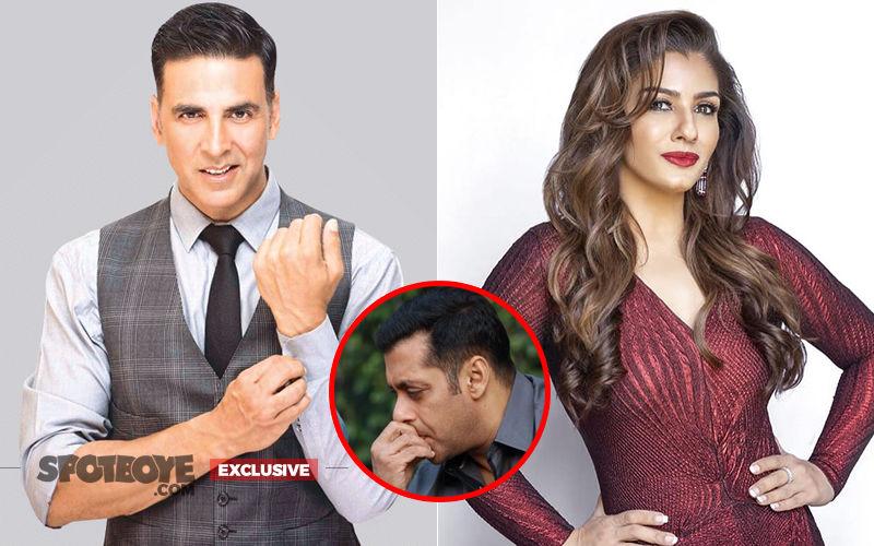 Mission Unaccomplished: Salman Khan Fails To Get Judge Raveena Tandon's Ex-Flame Akshay Kumar On Nach Baliye 9 - EXCLUSIVE