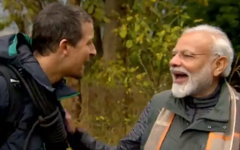 PM Narendra Modi On Being Part Of Bear Grylls' Man VS Wild- Was Intrigued And Inclined