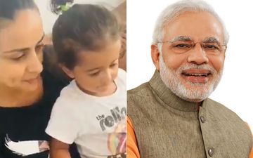 Gul Panag's Son Nihaal Just Did Something That PM Narendra Modi Finds 'Extremely Adorable'