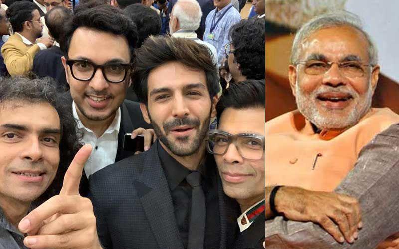 """PM Narendra Modi Applauded For His Epic Reply To Kartik Aaryan's """"Losers' Backfie"""""""