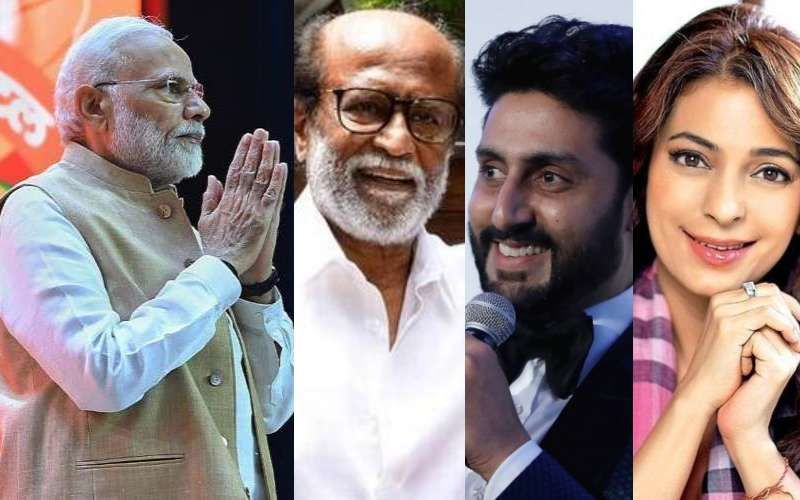 Lok Sabha Elections 2019: रजनीकांत, अभिषेक बच्चन, जूही चावला, रवीना टंडन और कई सेलेब्स से दी PM नरेंद्र मोदी को जीत की बधाई