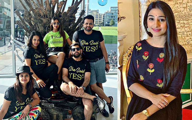 Yeh Rishta Kya Kehlata Hai Actress Mohena Kumari Singh's Wild Bachelorette Party In Amsterdam - Pictures