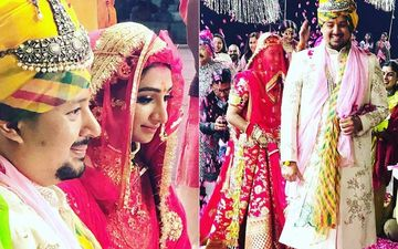 Mohena Kumari Looks Ethereal As A Bride; Wears A Stunning Red Lehenga As She Ties The Knot With Suyesh Rawat