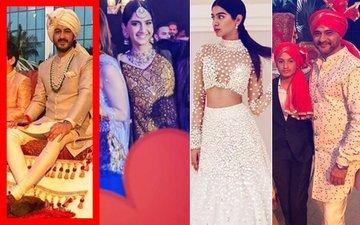 NEW PICS: Sonam, Khushi, Sanjay Kapoor Drenched In Wedding Festivities At Mohit Marwah's Big Fat Dubai Wedding