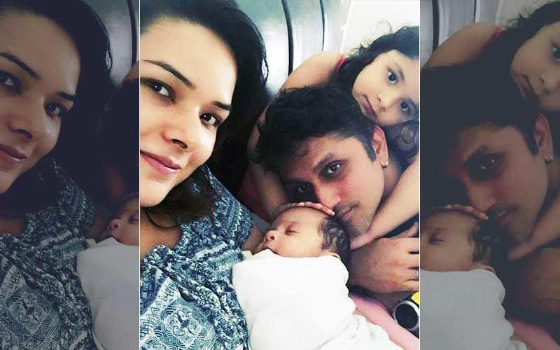 Meet Mohit Suri-Udita Goswami's Li'l Baby Boy, Karrma- First Pic