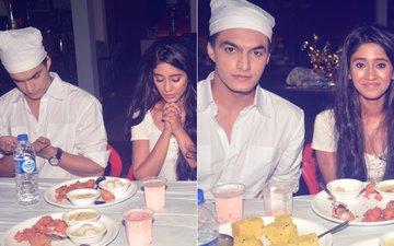 PICS: Mohsin Khan & Shivangi Joshi Join Team Yeh Rishta Kya Kehlata Hai For An Iftar Party