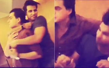 Video: Yeh Rishta Kya Kehlata Hain Actors Mohsin Khan & Rishi Dev Get Into A Fight