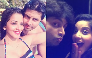 Mona Lisa & Vikrant Singh Holiday In Goa After Getting Eliminated From Nach Baliye 8