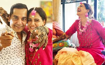 Mona Singh's Mehendi Ceremony: Gaurav Gera Shares INSIDE PICS AND VIDEOS From The Beautiful Pre-Wedding Celebrations