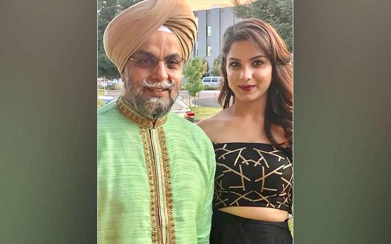 Monica Gill Shares Cute Insta Pic With Father, Calls Him Her First Love
