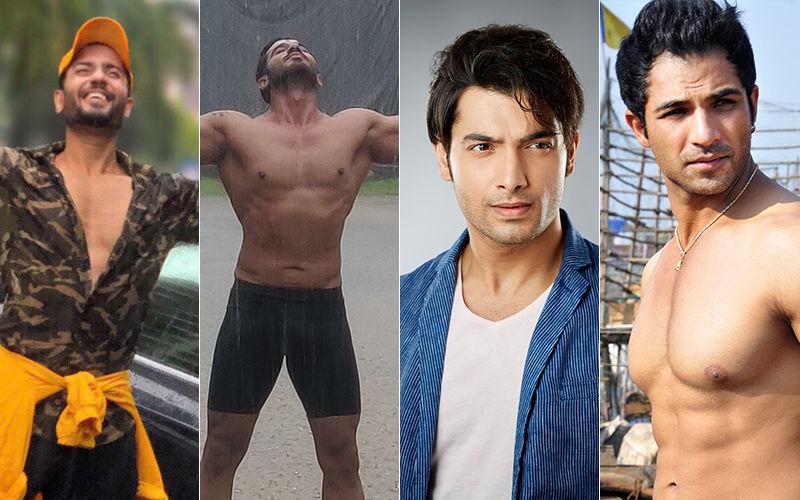 Mumbai Rains: Sharad Malhotra, Mrunal Jain, And Other TV folks are making the most of Monsoons
