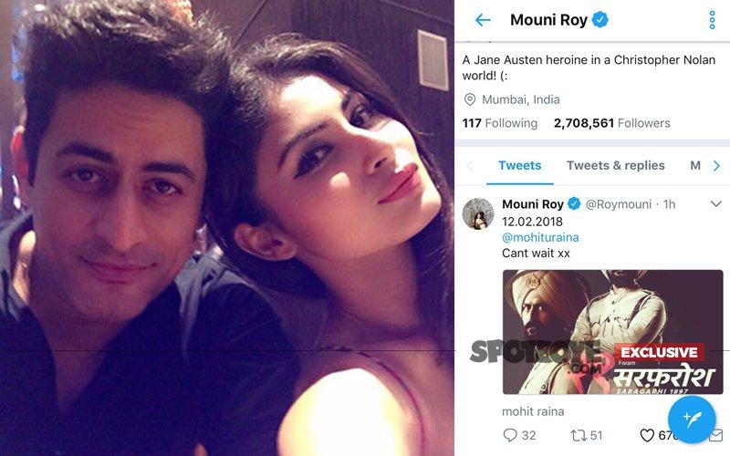 IT'S LOVE: Mouni Roy Posts Boyfriend Mohit Raina's New Look