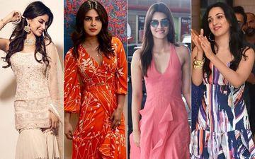 Mouni Roy, Priyanka Chopra, Kriti Sanon, Kiara Advani Are All 'Ruffled' Up!