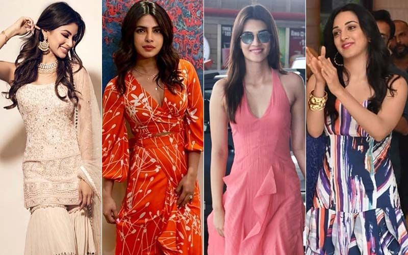 Mouni Roy, Priyanka Chopra, Kriti Sanon, Kiara Advani Are All 'Ruffled' Up!