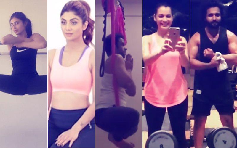 Workout Wednesday: Mouni Roy, Shilpa Shetty, Tusshar Kapoor, Dia Mirza & Jackky Bhagnani Give Us Fitness Goals