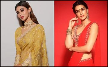 Mouni Roy Vs Kriti Sanon- Who Looked SEXIER In Saree?