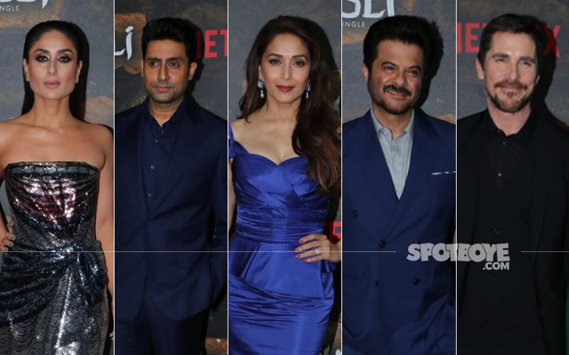 Mowgli: Legend Of The Jungle Premiere: Kareena Kapoor Khan, Abhishek Bachchan, Madhuri Dixit, Anil Kapoor Meet Christian Bale And Andy Serkis