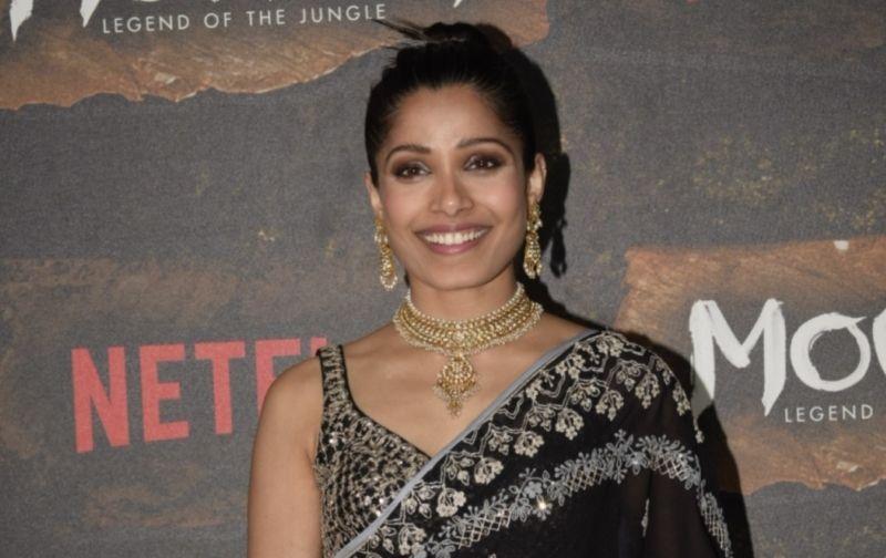 'मोगली : लीजेंड ऑफ द जंगल' भारत को समर्पित फिल्म : फ्रीडा पिंटो