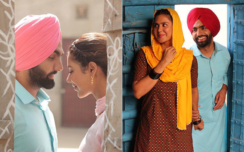 Muklawa: Ammy Virk, Sonam Bajwa's Latest Pictures Look Majestic