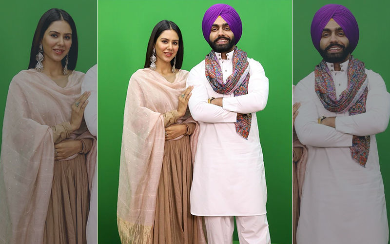 Muklawa Releasing Tomorrow, Ammy Virk And Sonam Bajwa Having Fun During Promotions