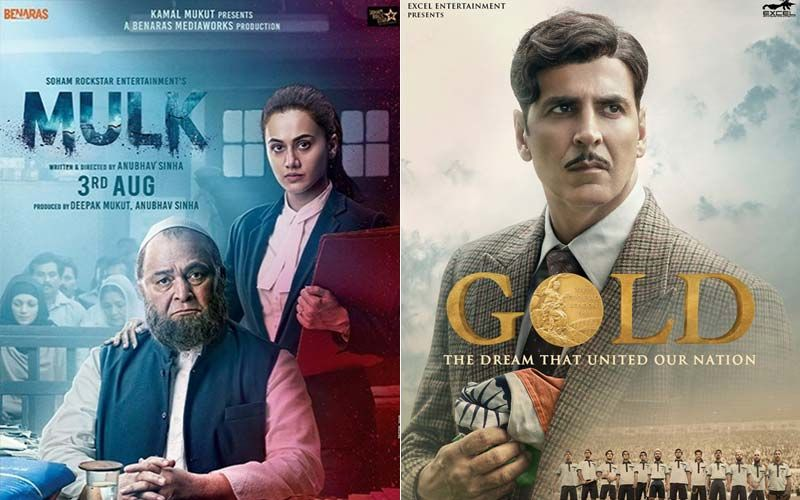 Rishi Kapoor-Taapsee Pannu Starrer Mulk And Akshay Kumar's Gold: Two Interesting 2018 Films To Keep You Entertained During The Week-PART 68