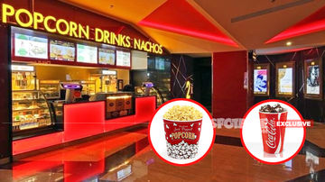Now, Soggy Popcorn (Rs 280) And Watery Pepsi (Rs 260) In Multiplexes! State Govt Fails To Implement Reduction!!