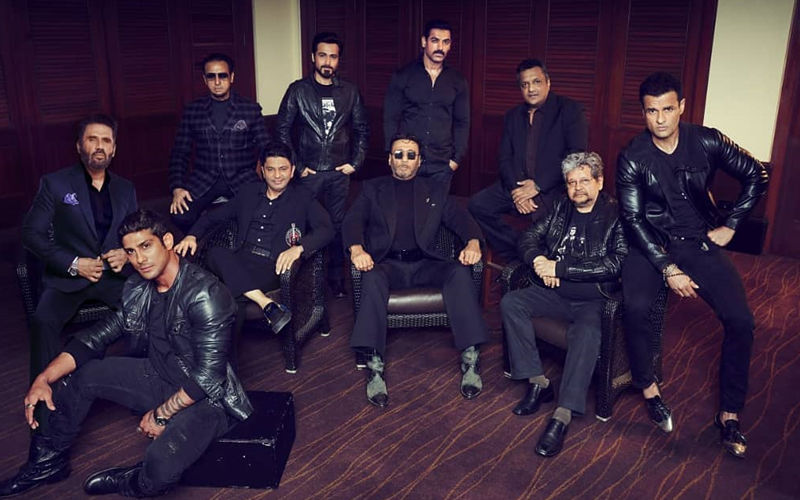 Sanjay Gupta-Bhushan Kumar's Men In Black: John Abraham, Emraan Hashmi Jackie Shroff, Suniel Shetty And Team Ready For Mumbai Saga