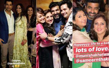 Munisha Khatwani Gets Engaged; Ssharad Malhotra, Karan Mehra, Juhi Parmar Join The Celebrations