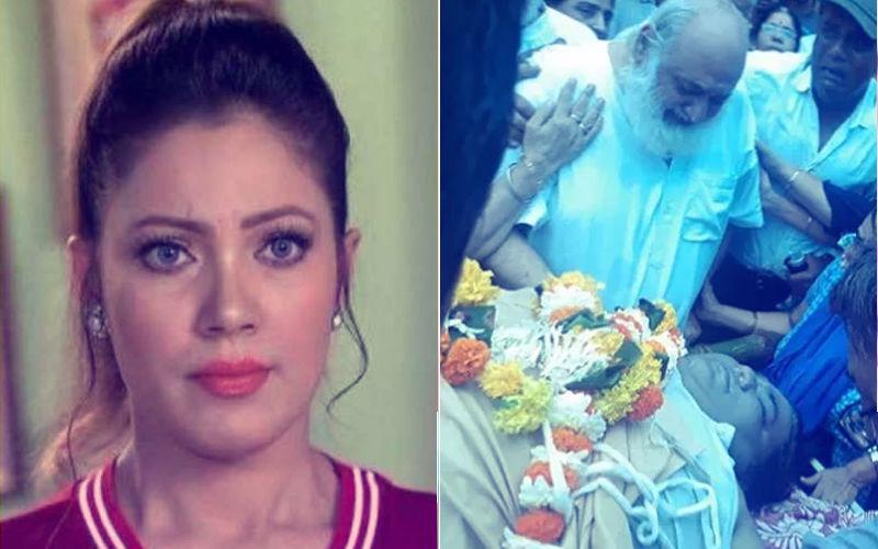 Video: Taarak Mehta's Babita Aka Munmun Dutta Blasts Fans Who Clicked Selfies At Dr. Hathi's Funeral