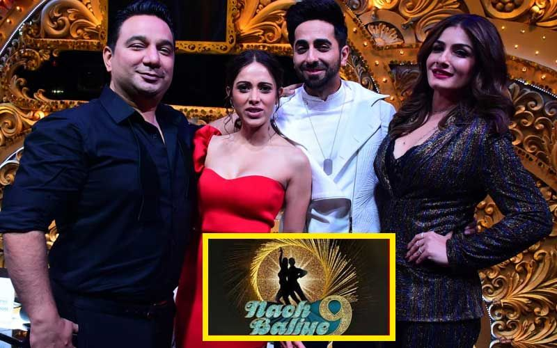 Nach Baliye 9: Raveena Tandon-Ahmed Khan Along With Ayushmann Khurana-Nushrat Bharucha Recreate Tip Tip Barsa Pani In Role Reversal