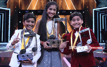 Nagpur Girl Sughanda Date Takes Sa Re Ga Ma Li'l Champs Trophy Home