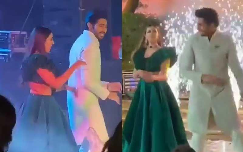 Niharika Konidela And Chaitanya JV Wedding: Couple Light Up Their Sangeet Ceremony At Udaipur – WATCH