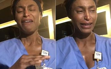 ICU Nurse Breaks Down After A Traumatic Shift; Shares Gut-Wrenching Details: 'You Walk Into A Room, There's A Dead Body There'-VIDEO