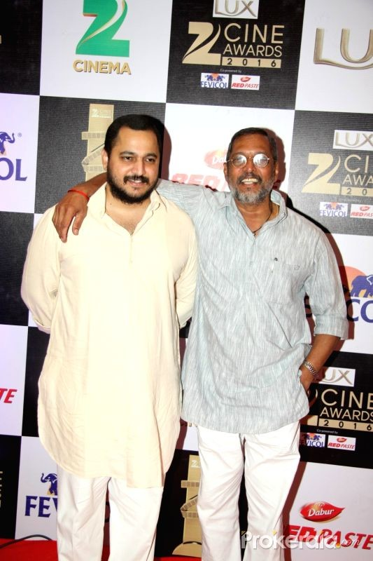 Nana Patekar With His Son Malhar