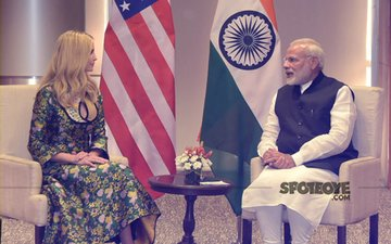 US President Donald Trump's Daughter Ivanka Trump Arrives In India
