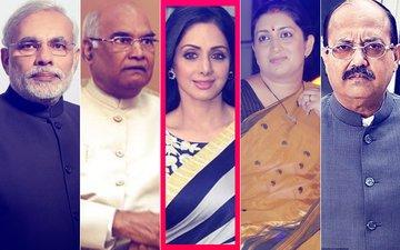 SRIDEVI PASSES AWAY: Narendra Modi, Ram Nath Kovind, Smriti Irani, Amar Singh Express GRIEF